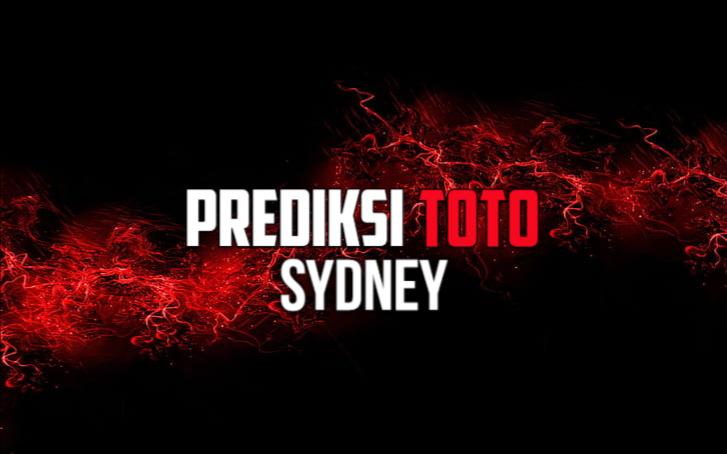 Prediksi Toto Sydney Sabtu 10 Oktober 2020